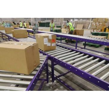 Motorized Pallet Conveyor Belt Roller Conveyor System
