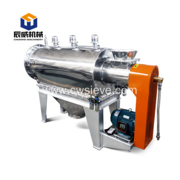stainless steel centrifugal sifter for algae powder