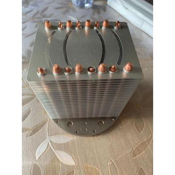 200-250 W Round Copper Heatsink Bakeng sa Led