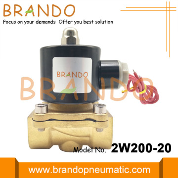 2W200-20 Direct-acting NC Solenoid Valve