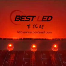 5mm Amber LED 600nm 610nm Light Emitting Diode