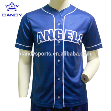 Cheap polyester cheer baseball jerseys