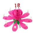 Cheap Wax Wholesale Musical Flower Candle