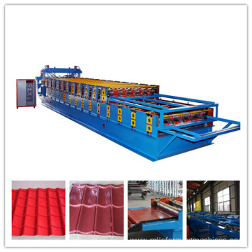Glazed and Trapezoidal Metal Roofing Sheet Roll Forming Machine