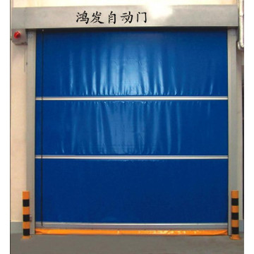 Aluminium Alloy Fabric Elu Speed ​​Automatic Door