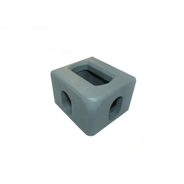 Steel Block Fitting Container Corner Castings