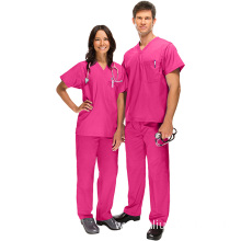 Scrubs Uniforms with two patch pockets Hospital Staff