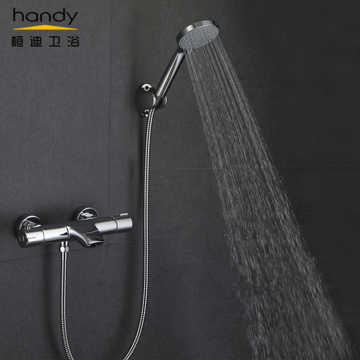 Waterfall Spout Thermostatic Shower Mixer Set