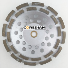 180mm Double Row Grinding Cup Wheel