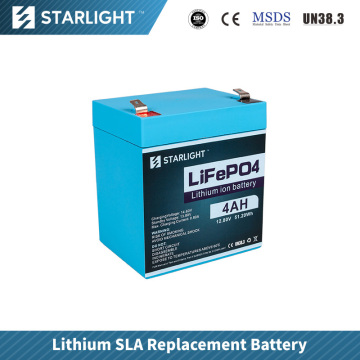 12.8V 4AH LiFePO4 Battery Replace Lead Acid Battery