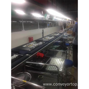 LCD TV Assembly Line Double Speed Chain Conveyors
