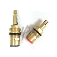 Brass valve cartridge (quick-open)