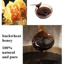 raw organic natural buckwheat honey