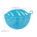 Kitchen Fruit Vegetable Cleaning Tool Leaf Shaped Rice Wash Gadget Noodles Spaghetti Beans Colanders Strainers Kitchen Tool