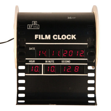 Vertical Film Mode Alarm Digital Clock