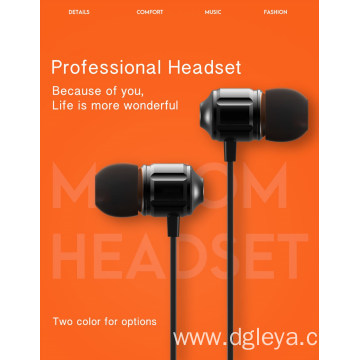 In-ear Earphone 3.5mm Plug Microphone Wired Sport