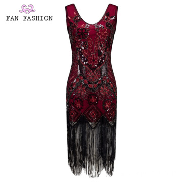 70`s Sleeveless Sequin Dresses