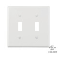 Fireproof Plastic Receptacle  Wall Plate
