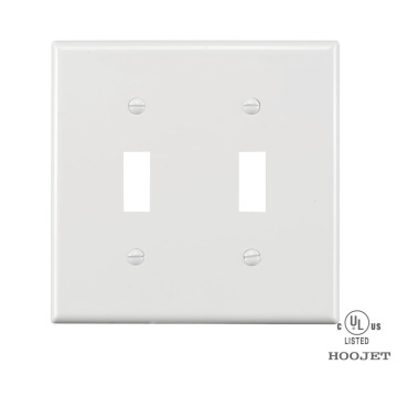 PVC Waterproof Plastic Electrical White Wall Switch Plates