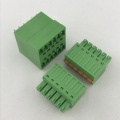 3.81mm pitch double row pluggable PCB terminal block