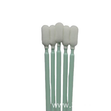 service green long handle foam swabs from