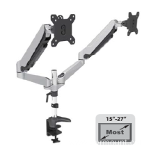 "Dual Screen Desktop Mount  for 10""-27"" Monitor Aluminium"