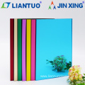 Extruded Color Decoration High Quality PS Mirror Sheet