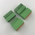 3.81mm pitch 6 pin spring pluggable terminal block