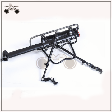 new quick release mountain bicycle rear rack with reflector