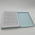 Silver Color Square Chocolate Paper Craft Box