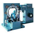 Wire ring stretch wrapping machine