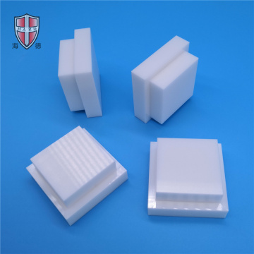 White Insulation Zirconia Ceramic Square Combination Block
