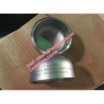 3'' SCH40 stainless steel A403 WP310 Cap