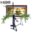 Vertical photography indoor and outdoor Wall mural printer