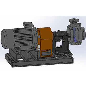 Centrifugal, Horizontal, Heavy duty slurry pump