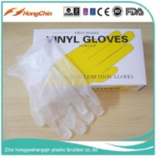 OEM available china en-455 standard disposable vinyl hand gloves