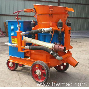 Portable Explosion-proof dry mix shotcrete machine