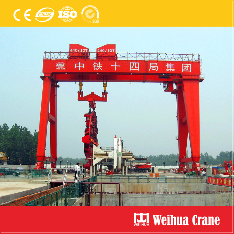 Tunnel Construction Gantry Crane