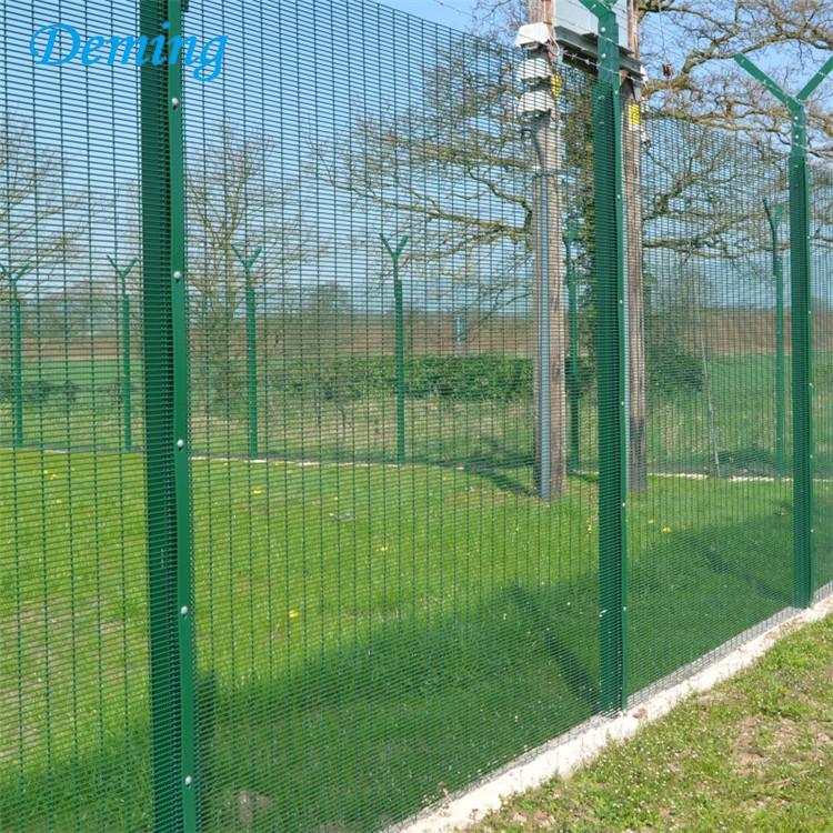 factory anti-climbing high security weld mesh fencing