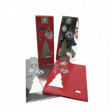 Wine Paper Box Packaging For Christmas Festival