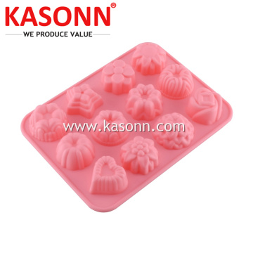12 Cavity Mini Silicone Candy Chocolate Ice Mold