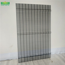 welded mesh security fence