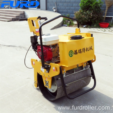 Small Single Drum Vibratory Roller with 15KN Centrifugal Force