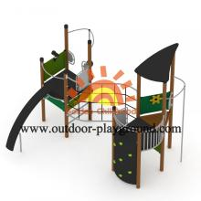 Kids Multiplay Play Structures HPL Playground Equipment