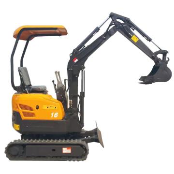 quick hitch 1.6 ton mini digger