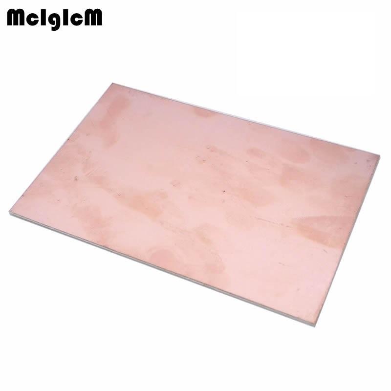 MCIGICM FR4 PCB Single Side Copper Clad plate DIY PCB Kit Laminate Circuit Board 10x15cm