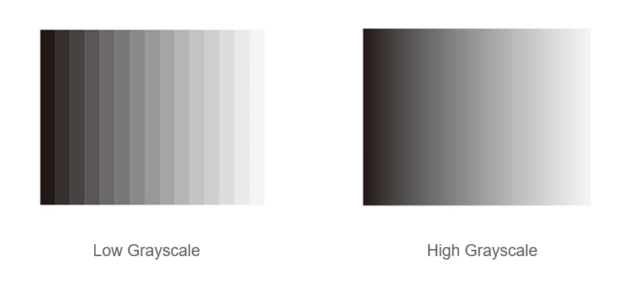 High Grayscale For Better Performance