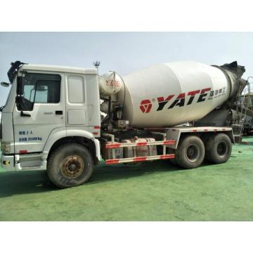 Refurbished Howo 10m3 Concrete Mixer Truck