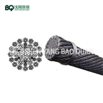 35×7 Rotation Resistant Wire Rope for Tower Crane