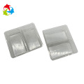 2 cavity biscuits plastic blister tray